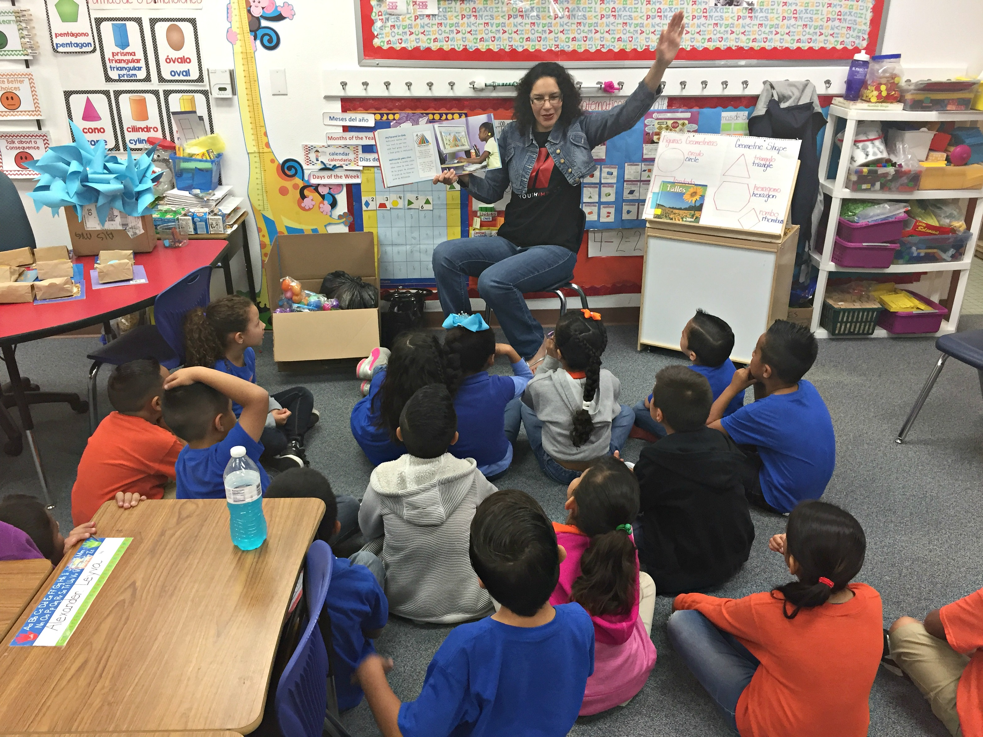 Reading on Nutrition to Make an Impact at CES. Read how we were able to make an impact to the Canutillo Elementary students on nutrition.
