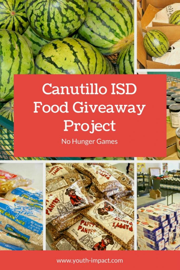 Canutillo ISD Food Bank Giveaway. Helping our community with our food bank giveaway at Canutillo Elementary School.