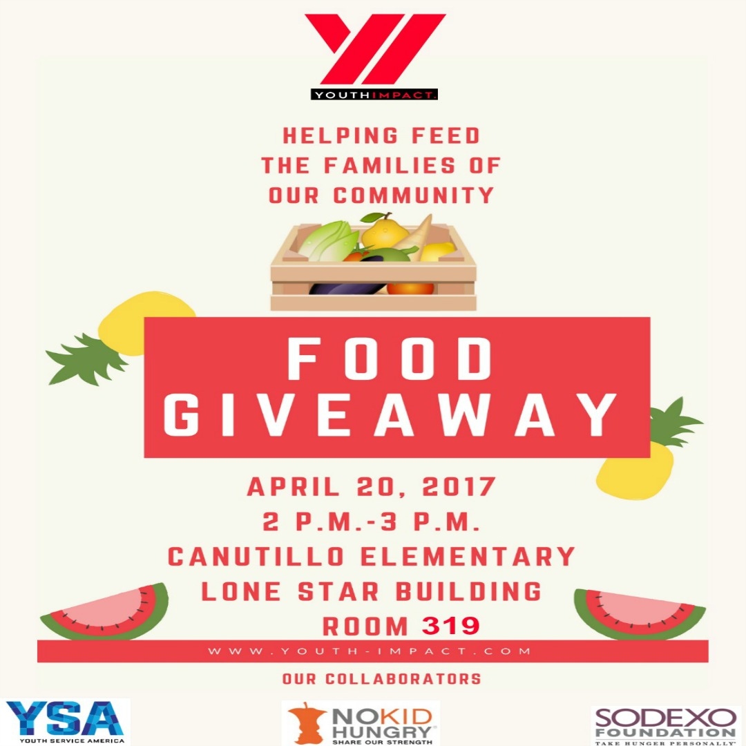 Canutillo ISD Food Bank Giveaway