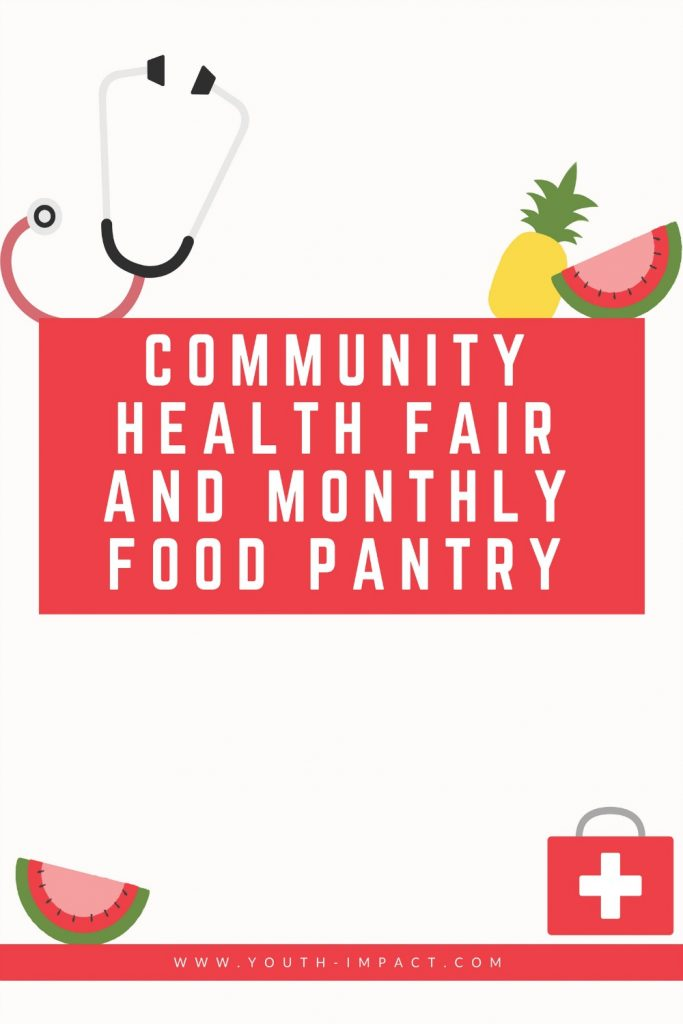 Community Health Fair and Monthly Food Pantry. Read how Youth Impact was able to serve the community of El Paso with the help of various organizations.