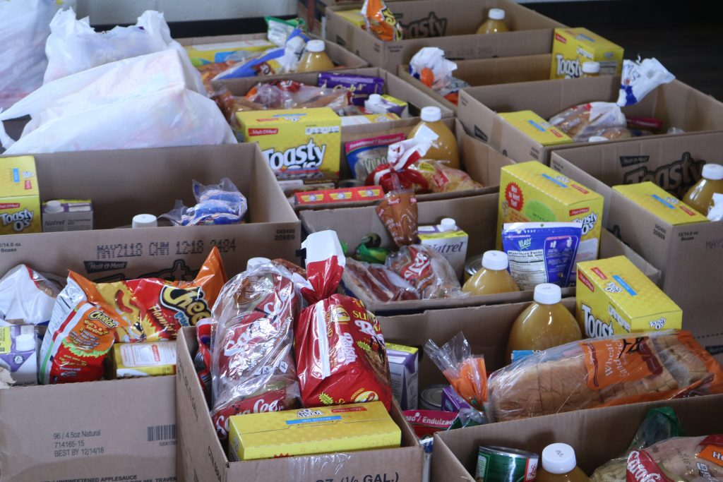 August Monthly Food Pantry
