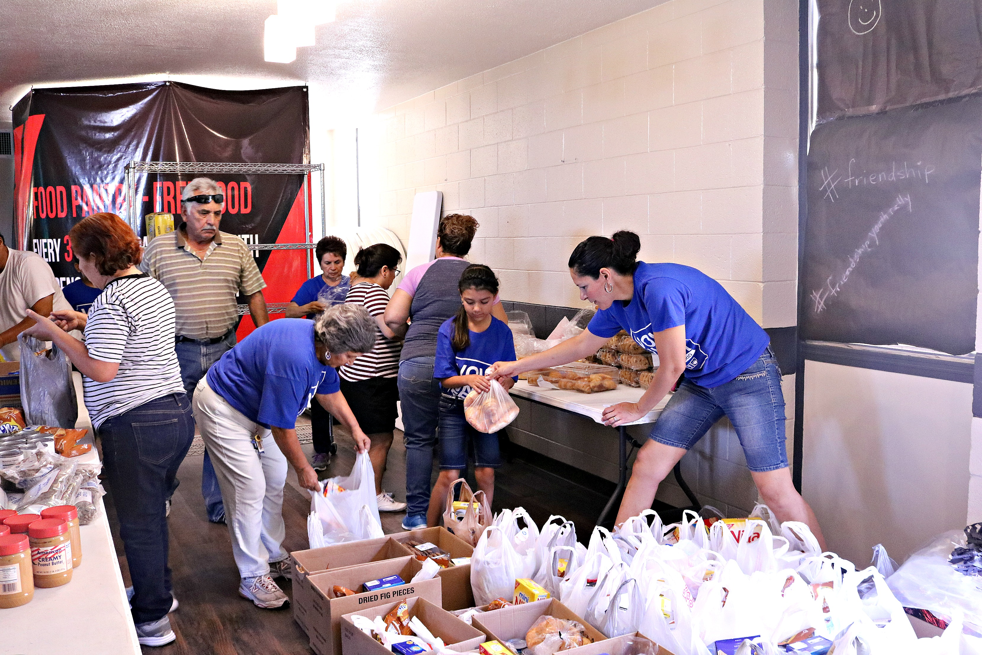 Food Bank: July's Monthly Food Pantry in El Paso