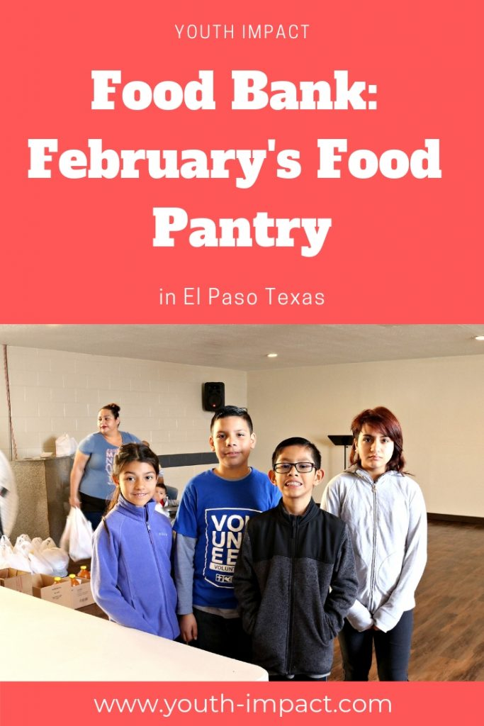 February's Food Pantry in El Paso.