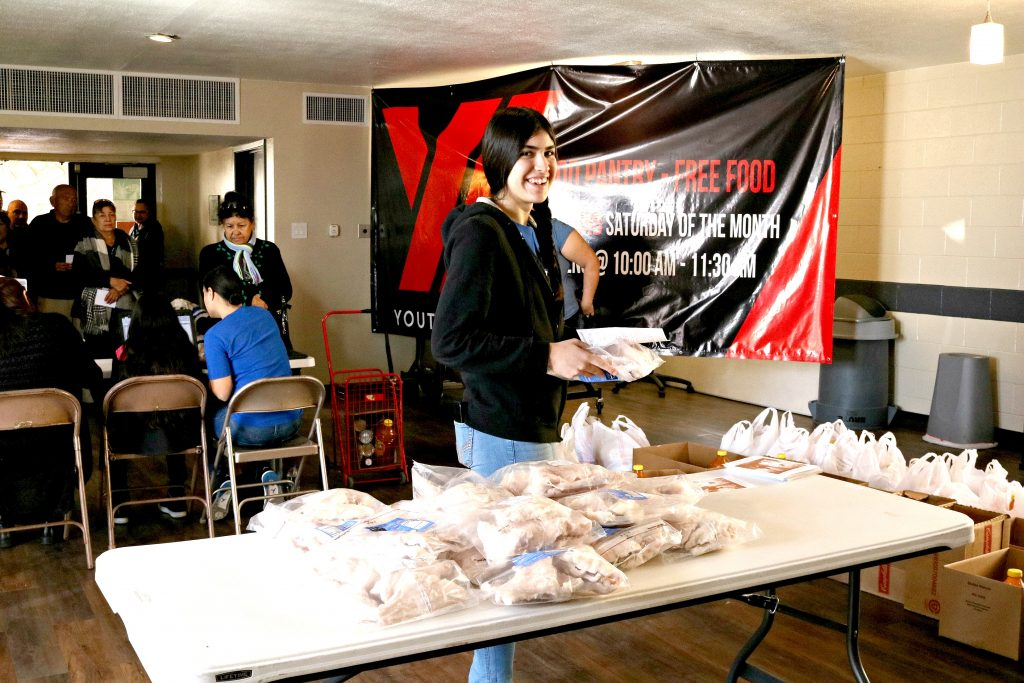 February's Food Pantry in El Paso was a success. Read how we helped some of our local community families.