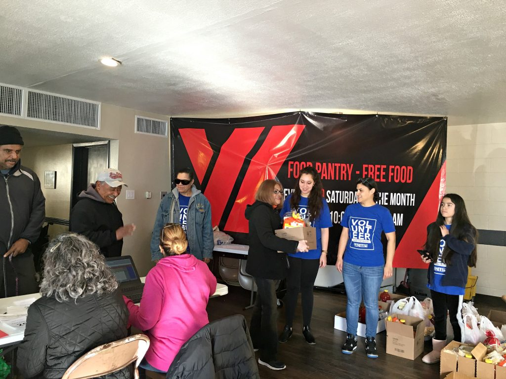 Food Pantry in El Paso