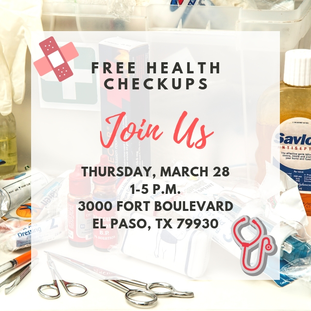 March's Free Healthcare in El Paso was a success. Read how we helped some of our local community families.